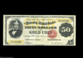 Large Size:Gold Certificates, Fr. 1197 $50 1882 Gold Certificate Very Fine....