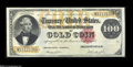 Large Size:Gold Certificates, Fr. 1214 $100 1882 Gold Certificate Extremely Fine-About New....