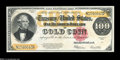 Large Size:Gold Certificates, Fr. 1215 $100 1922 Gold Certificate Superb Gem New....