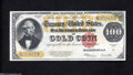 Large Size:Gold Certificates, Fr. 1215 $100 1922 Gold Certificate Very Choice New....