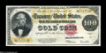 Large Size:Gold Certificates, Fr. 1215 $100 1922 Gold Certificate Extremely Fine....