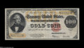 Large Size:Gold Certificates, Fr. 1215 $100 1922 Gold Certificate Choice Very Fine....