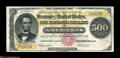Large Size:Gold Certificates, Fr. 1216b $500 1882 Gold Certificate Very Fine....