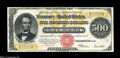 Large Size:Gold Certificates, Fr. 1217 $500 1922 Gold Certificate Choice Very Fine....