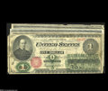 Large Size:Group Lots, A Starter Collection of $1 Legal Tender Notes.... (7 notes)