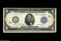 Large Size:Group Lots, $5 and $50 White-Mellon FRNs.... (4 notes)
