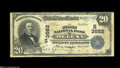 Helena, AR - $20 1902 Plain Back Fr. 652 The First NB Ch. # (S)3662 A very scarce bank which issued large notes only. J...