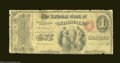 Norwalk, CT - $1 Original Fr. 380 The NB of Norwalk Ch. # 942 A scarce ace from this none too common bank. Well circul...