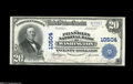 Washington, DC - $20 1902 Plain Back Fr. 657 The Franklin NB Ch. # 10504 A significant District note, as this is by far...