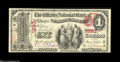 Washington City, DC - $1 Original Fr. 382 The Citizens NB Ch. # 1893 An excessively rare type and denomination from the...