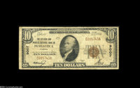 Pensacola, FL - $10 1929 Ty. 1 The Citizens & Peoples NB Ch. # 9007 A slightly more difficult to obtain Pensacola ba...