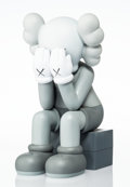 Collectible:Contemporary, KAWS (b. 1974). Passing Through Companion (Grey), 2013. Painted cast vinyl. 11-1/2 x 6-1/2 x 7-1/2 inches (29.2 x 16.5 x...