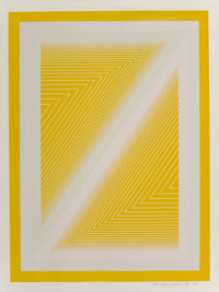 Richard Joseph Anuszkiewicz (b. 1930) Sequential I, from the Sequential Portfolio, 1972 S
