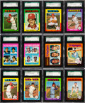 Baseball Cards:Sets, 1975 Topps Baseball SGC-Graded Near Set (596/660) - Most Cards are Mint! ...
