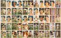 Baseball Cards:Lots, 1957 Topps Baseball Partial Uncut Sheet - Featuring 55 CardsIncluding Mickey Mantle!...