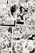 Original Comic Art:Panel Pages, Gene Colan et Romeo Tanghal Wonder Woman n°288 Original dela page 25 (DC, 1982).. ...