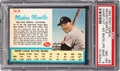 Baseball Cards:Singles (1960-1969), 1962 Post Cereal Mickey Mantle #5 (Ad Back) PSA NM-MT 8....