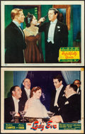 "Movie Posters:Comedy, The Lady Eve & Other Lot (Paramount, 1941). Fine/Very Fine. Lobby Cards (2) (11"" X 14"") & Photos (2) (8"" X 10""). Comedy.. ... (Total: 4 Items)"