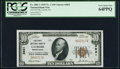 National Bank Notes:Pennsylvania, Latrobe, PA - $10 1929 Ty. 1 The First NB Ch. # 3831 PCGS Very Choice New 64PPQ.. ...