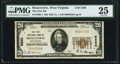 National Bank Notes:West Virginia, Ronceverte, WV - $20 1929 Ty. 1 The First NB Ch. # 5280 PMG Very Fine 25.. ...