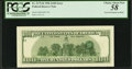 Error Notes:Third Printing on Reverse, Fr. 2175-B $100 1996 Federal Reserve Note. PCGS Choice About New 58.. ...