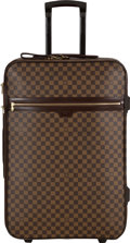 "Luxury Accessories:Travel/Trunks, Louis Vuitton Damier Ebene Pegase 65 Suitcase. Condition: 2. 17"" Width x 27"" Height x 10"" Depth. ..."