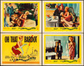 "Movie Posters:Foreign, La Parisienne (United Artists, 1958). Overall: Very Fine-. Title Lobby Card & Lobby Cards (3) (11"" X 14""). Foreign.. ... (Total: 4 Items)"