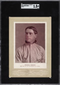 Baseball Cards:Singles (Pre-1930), 1902-11 W600 Sporting Life - Type 4 George Gibson SGC Fair 1.5 - Only Three Graded Examples....