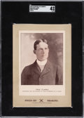 Baseball Cards:Singles (Pre-1930), 1902-11 W600 Sporting Life - Type 3 Fred Clarke (Street Clothes) SGC VG-EX 4....