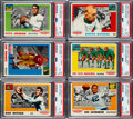 Football Cards:Sets, 1955 Topps All-American Football Complete Set (100)....