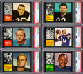 Football Cards:Sets, 1962 Topps Football Complete Set (176)....