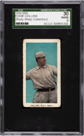 Baseball Cards:Singles (Pre-1930), 1910 E98 'Set of 30' Eddie Collins (Blue Background) SGC 30 GD 2....