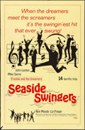 "Movie Posters:Rock and Roll, Seaside Swingers (Embassy, 1965). Folded, Fine/Very Fine. One Sheet (27"" X 41""). Rock and Roll.. ..."