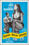 """Movie Posters:Foreign, Yesterday, Today and Tomorrow (Embassy, 1964). Folded, Overall: Fine/Very Fine. One Sheet (27"""" X 41"""") & Half Sheet (22"""" X 28... (Total: 2 Items)"""
