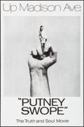 "Movie Posters:Comedy, Putney Swope (Cinema 5, 1969). Folded, Very Fine. One Sheets (2) Identical (27"" X 41""). Comedy.. ..."