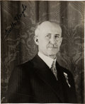 Photography:Signed, Orville Wright Signed Photograph. ...