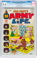 Silver Age (1956-1969):Humor, Sad Sack's Army Life Parade #18 File Copy (Harvey, 1967) CGC NM+ 9.6 Off-white to white pages....