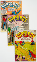 Silver Age (1956-1969):Superhero, Superboy Group of 7 (DC, 1957-66) Condition: Average FN.