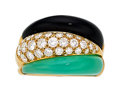 Estate Jewelry:Rings, Diamond, Multi-Stone, Gold Ring, Van Cleef & Arpels, Frenc...