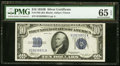 Small Size:Silver Certificates, Fr. 1703 $10 1934B Silver Certificate. PMG Gem Uncirculated 65 EPQ.. ...