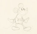 Animation Art:Production Drawing, Mickey Mouse Animation Drawing (Walt Disney, c. early 1930s)....