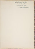 Books:Signed Editions, Franklin D. Roosevelt. D-Day Prayer,...