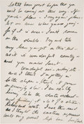 Autographs:U.S. Presidents, John F. Kennedy Autograph Letter Signed...