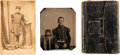 Autographs:Military Figures, William H. Carr Diary with Two Photographs. ...