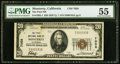 National Bank Notes:California, Monterey, CA - $20 1929 Ty. 1 The First NB Ch. # 7058 PMG About Uncirculated 55.. ...