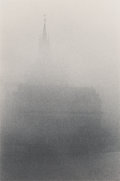 Photographs:Gelatin Silver, Michael Kenna (British/American, b. 1953). Steeple, Prague, Czechoslovakia, 1982. Gelatin silver. 9 x 6 inches (22.9 x 1...