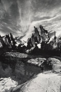 Photographs:Gelatin Silver, Unknown Artist (20th Century). Untitled (Mountainscape), 1978. Gelatin silver, printed later. 12-1/2 x 8-1/2 inches (31....