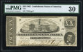 Confederate Notes:1862 Issues, T51 $20 1862 PF-1 Cr. 363 PMG Very Fine 30.. ...
