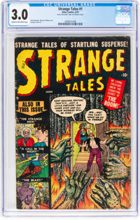 Strange Tales #1 (Atlas, 1951) CGC GD/VG 3.0 Cream to off-white pages