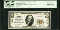 National Bank Notes:Wisconsin, Milwaukee, WI - $10 1929 Ty. 1 The National Exchange Bank Ch. # 1003 PCGS Very Choice New 64PPQ.. ...